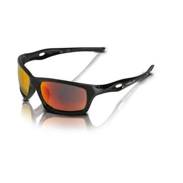 Очки беговые XLC Kingstone SG-C16 Frame black, lenses red