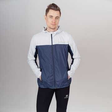 Куртка мужская Nordski Rain Moon Grey/Navy Run